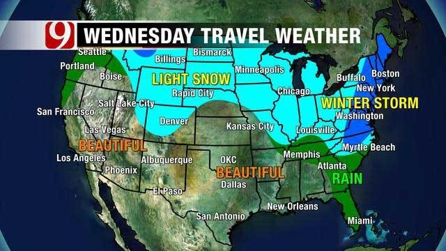 Cool, Mild Weather Sticks Around Through Thanksgiving Holiday