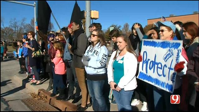 Norman HS Students Protest District's Handling Of Rape Case