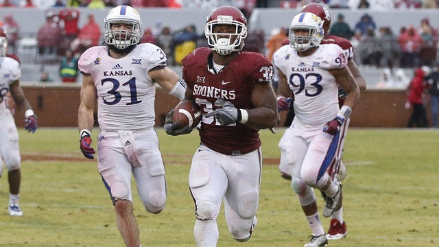 Perine Named Big 12 Offensive Player Of The Week