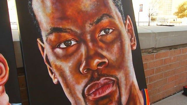 Virginia Artist Hopes His Work Will Earn Him A Meeting With KD