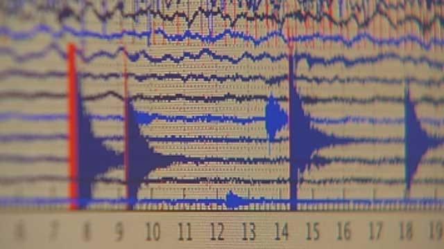 3.3 Magnitude Earthquake Recorded Near Guthrie