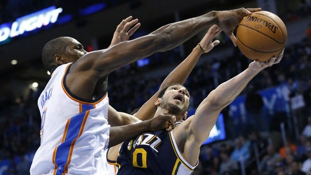 Bench Leads Thunder To Win Over Utah