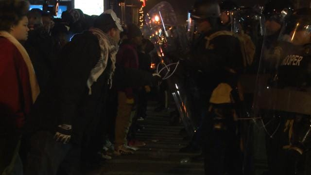 Two Oklahomans Arrested During Ferguson Protests