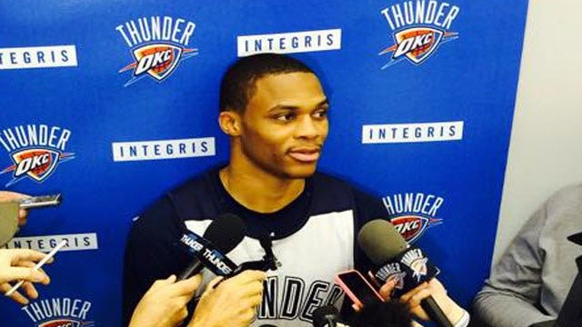 Westbrook Back In The Lineup For Thunder Vs. Knicks Friday