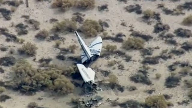 NTSB: Space Plane's Braking Devices Deployed Early