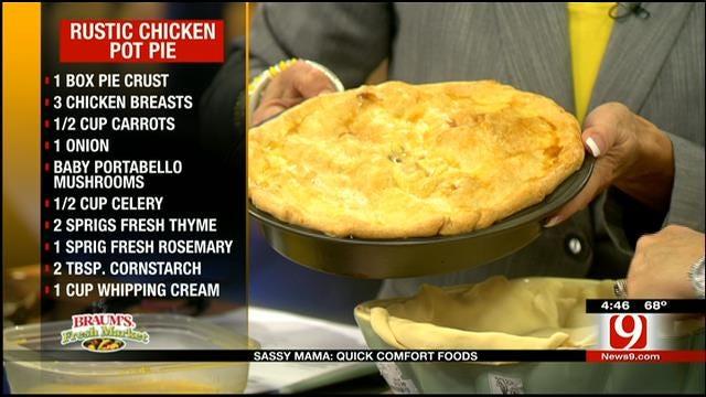 Rustic Chicken Pot Pie