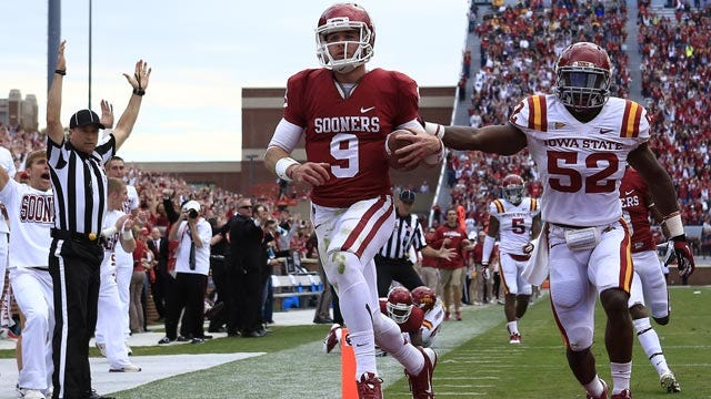 Trevor Knight Named Big 12 Offensive Player Of The Week