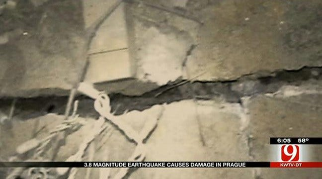 Oklahoma Earthquakes Cause Alarm, Damage Sunday