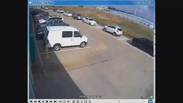 Police Seek Suspect In OKC Auto Burglary
