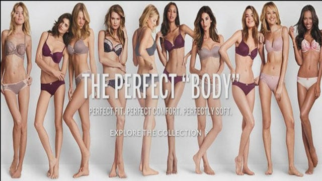 Victoria's Secret's 'Perfect Body' Campaign Angers Many