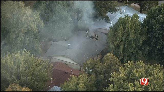 OKC Firefighters Battle Another House Fire In NW OKC