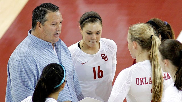 Oklahoma Volleyball Drops Five-Setter At TCU