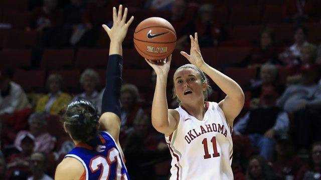 Sooner Women Roll Past Southeastern Oklahoma In Exhibition