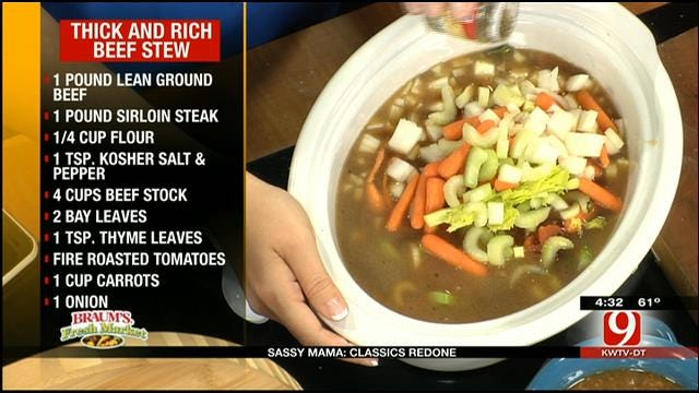 Thick and Rich Beef Stew