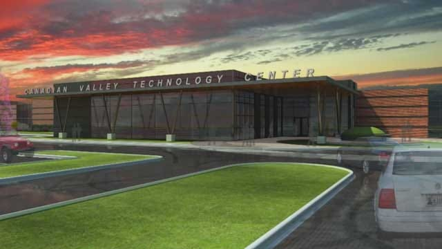 Canadian County Tech. Center Breaks Ground On New Facility