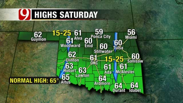 Fall Weather Hangs On In Oklahoma Ahead Of Arctic Blast
