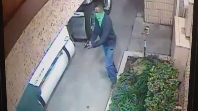OKC Police: Man Robs Braum's Delivery Driver At Gunpoint