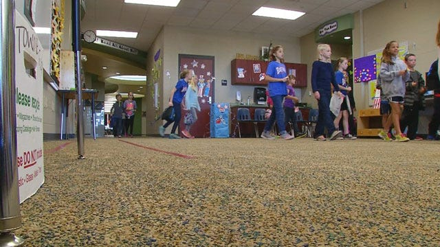 Fourth Grade Edmond Student Campaigns For Cancer Awareness