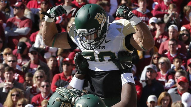 Rapid Reaction: Baylor Crushes Oklahoma