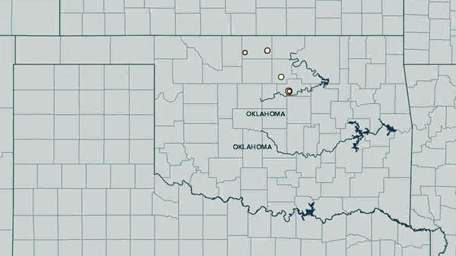 Five Earthquakes Strike Within Minutes Of Each Other In Northern, Central OK