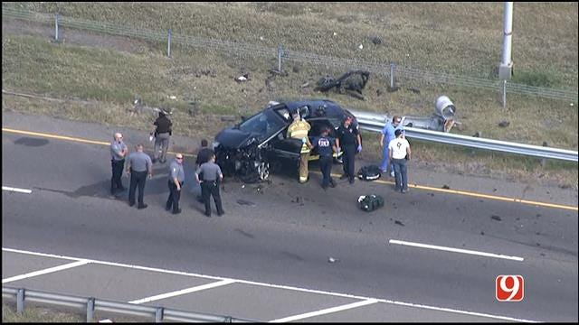 TRAFFIC ALERT: Crews Respond To Multiple Traffic Accidents In OKC