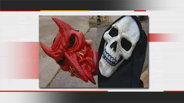 OKC Police Seek Thief Who Robbed Stores Wearing Halloween Mask