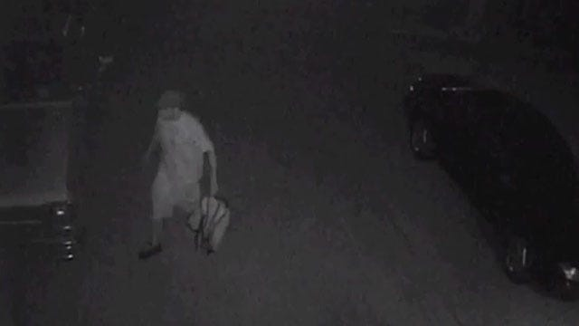 Surveillance Images Show OKC Auto Burglary