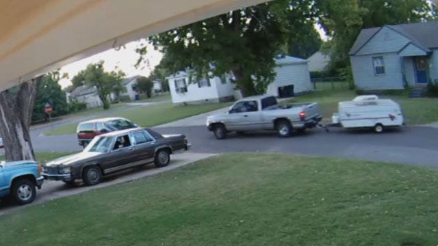 Thief Drives Off With Midwest City Woman's Prized Possession