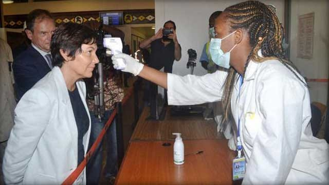 Stepped-Up Ebola Screening Starting In U.S. Airports