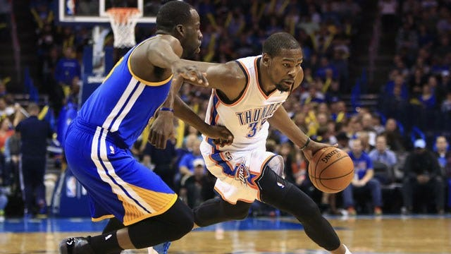 OKC Thunder Fans React To Kevin Durant Injury