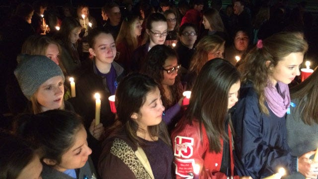 Candlelight Vigil Held After Duncan Homicides