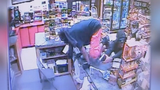 Caught On Camera: Three Rob NW OKC Store At Gunpoint