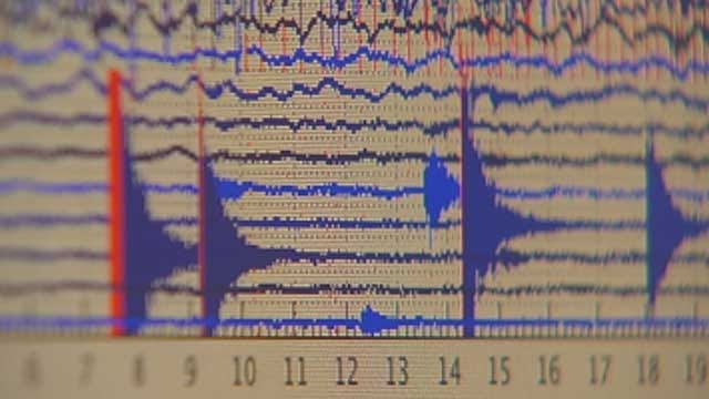 Multiple Earthquakes Recorded In Oklahoma Monday Morning