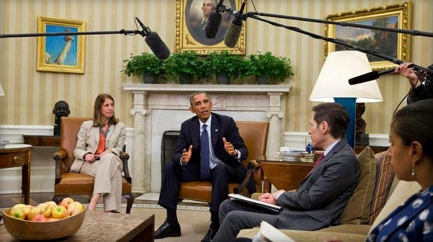 Obama Mulls Ebola 'Czar'