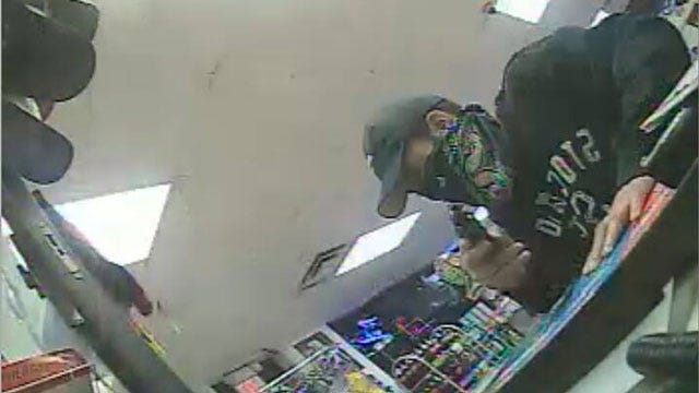 OKC Police Seek Suspect In Armed Robberies Of 2 Convenience Stores