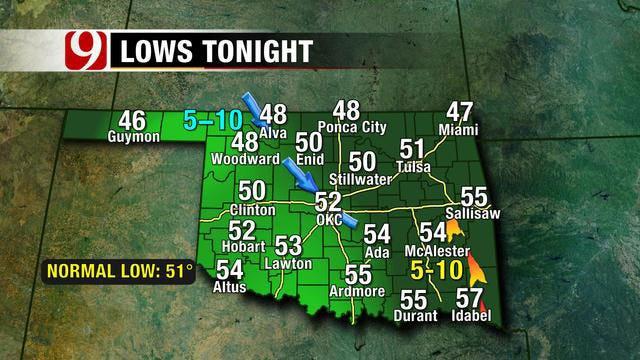 Peaceful Fall Weather Sticks Around In Oklahoma