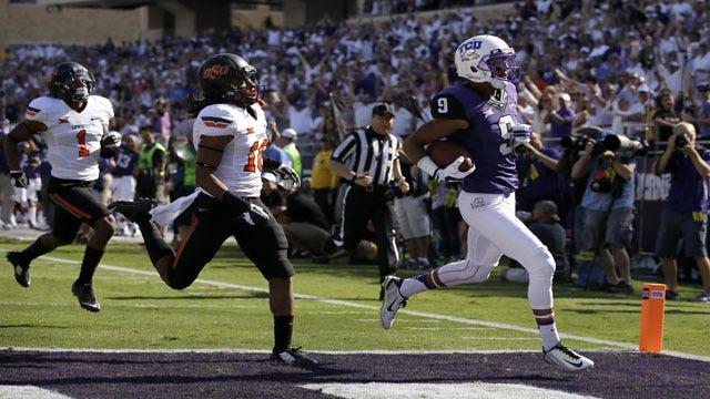 Boykin's 452 Yards Helps TCU Blast Cowboys