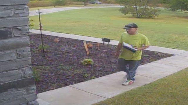 Choctaw Homeowner Catches Thief On Surveillance