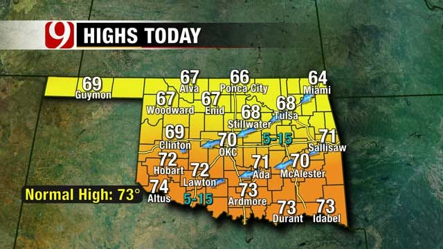 Cool, Fall Weather Weekend Ahead For Oklahoma