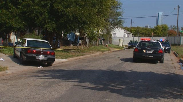 Man, Dog Stabbed After Altercation In Downtown OKC