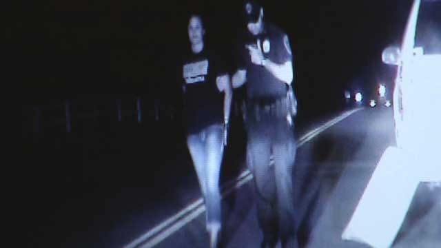 Chickasha Teacher's Bad Behavior Against Officer Caught On Camera