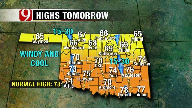 Fall Temperatures Cool Down Oklahoma By Weekend