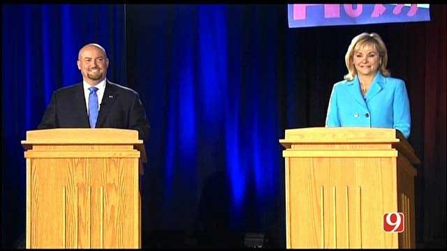 Fallin, Dorman Face Off In Sole Debate Of 2014 Governor's Race