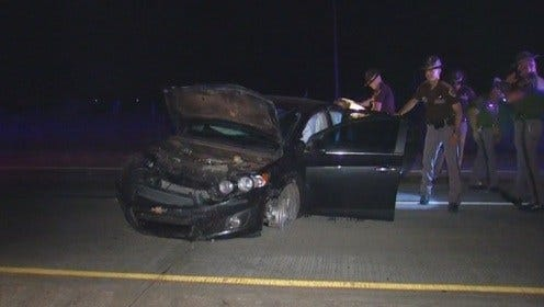 OHP: High-Speed Chase Ends In Crash, Arrest On I-40 Near El Reno