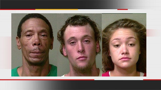 Three Arrested For Robbing Man At OKC Park
