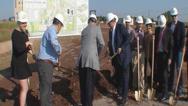 New Development Breaks Ground In NW OKC
