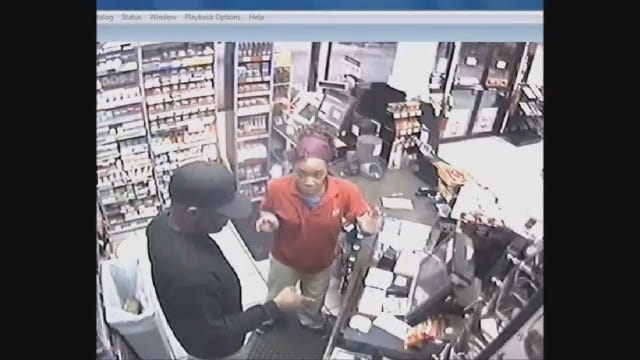 NW OKC Convenience Store Robbery Caught On Camera