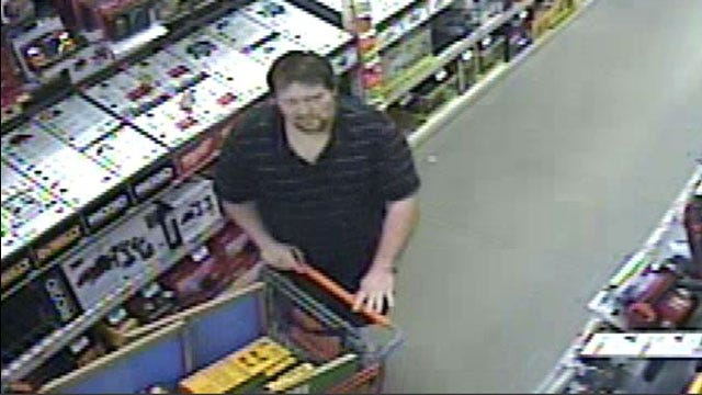 OKC Police Release Photos Of Man Accused Of Stealing From Home Depot