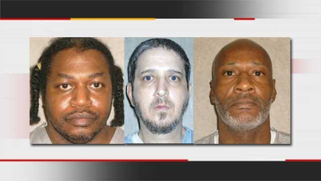 Execution Dates Of 3 Oklahoma Inmates Rescheduled For 2015