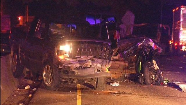 One Killed In Multi-Vehicle Crash On I-35 In NE OKC